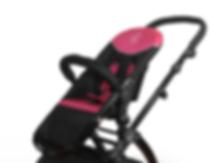 Hot Pink Stroller|Modern Stroller|Ella Baby Strollers