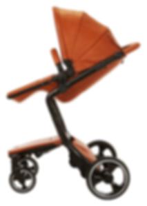 Ella Baby|Elite Stroller|Leather Stroller