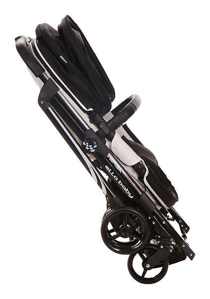 Ella Baby Versa Stroller Black