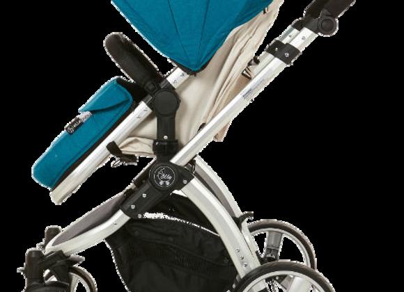 Journey Convertible Stroller - Teal/Beige