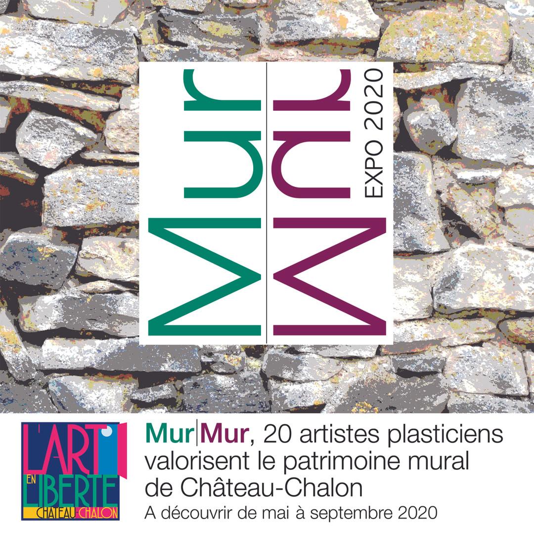 """Opération MurMurs, """"art en liberté"""" château Chalon"""
