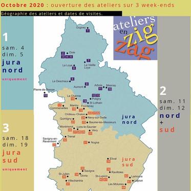 Ouverture des ateliers des artistes du Jura