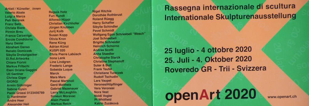 Eposition à Roveredo en Suisse (Grisons)