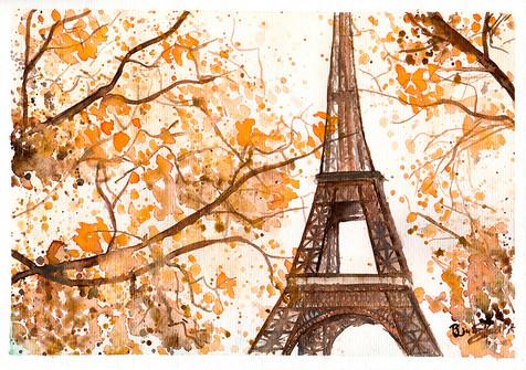 Aquarela Paris