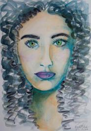 Aquarela Retrato