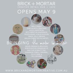 May 2015: Brick+Mortar Pop-Up Shop