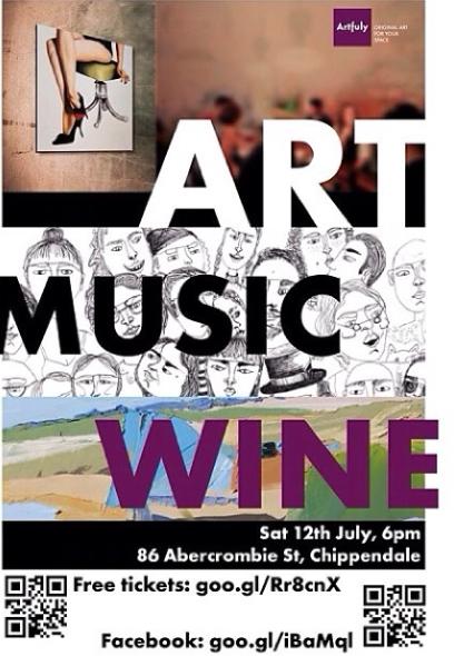 July 2014: Artfuly Group Exhibiton