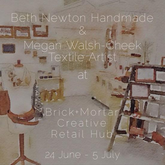 June/July 2015: Brick+Mortar Pop-Up Shop