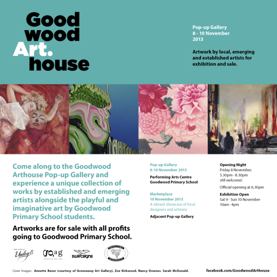 November 2013: Goodwood Arthouse