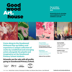 November 2013: Goodwood Arthouse