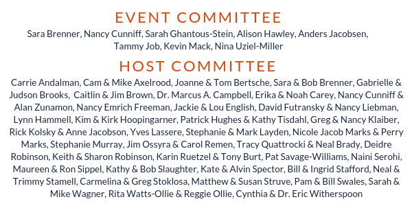 Invite Event and Host Committee Showcase