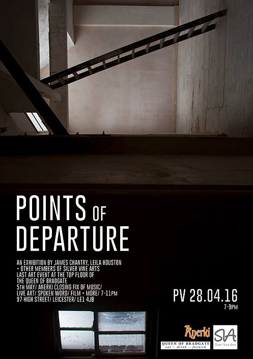 www.melfletcher.com - Mel Fletcher - Points of Departure poster