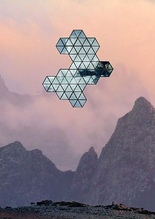 www.melfletcher.com - Mel Fletcher - Geometric Collage