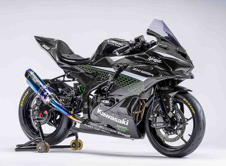 Nova Kawasaki Ninja ZX-25R muda o visual e surge com fibra de carbono