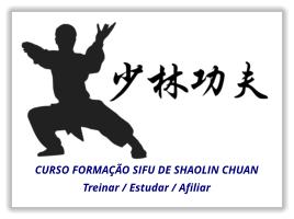 Curso formação de instrutor de Shaolin Chuan