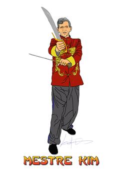 mestre kim desenho