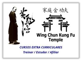 Curso extra curriculares para instrutores e sifu