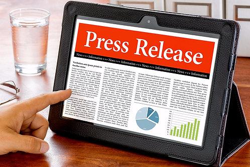 Standard Press Release + Distribution