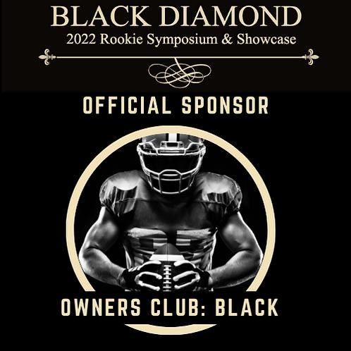 Owners Club Sponsorship (Black Team)