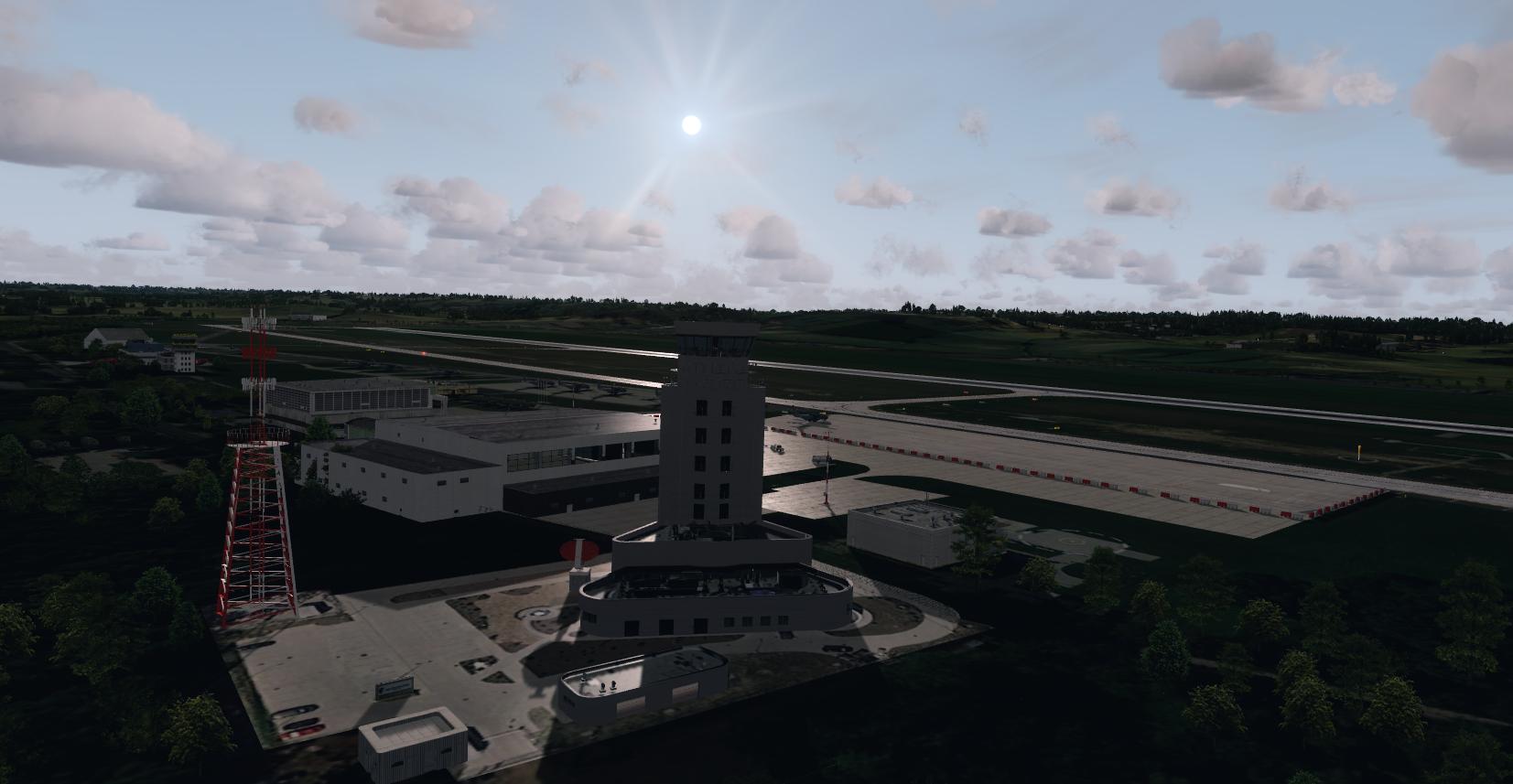 EPKK_2018 | scenery | FlyDesign | Prepar3d