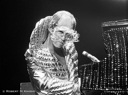 Elton John by Robert M. Knight
