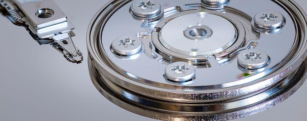 Harry Janssen | Detail of a Hard Disk Drive