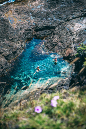 Rawhiti Rock Pools by Lola Photography