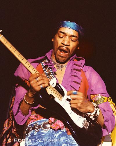 Jimi Hendrix by Robert M. Knight