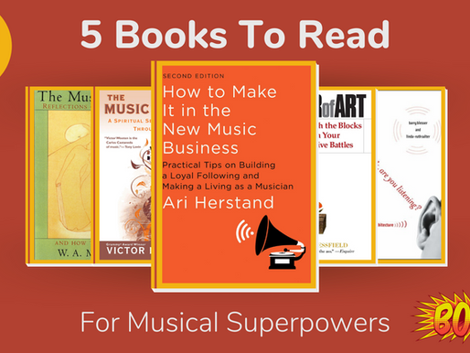 5 Books To Read For Musical Superpowers