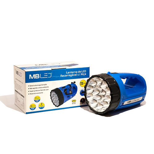 Lanterna LED MBLED 15W 6000k