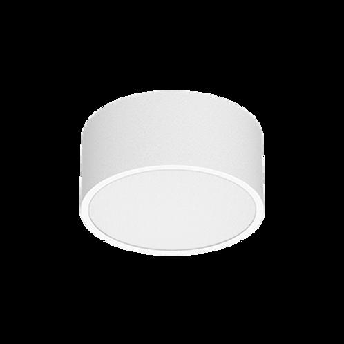 Plafon de sobrepor redonda para lâmpadas Bulbo LED, com corpo em alumínio