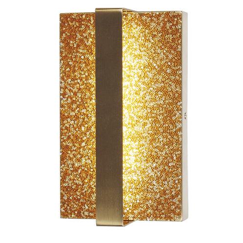 Pendente parede OURO LED 6W BIVOLT 3000K - Starlux