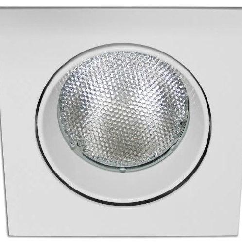Embutido Quadrado Par 30 Face Plana Interlight E-27