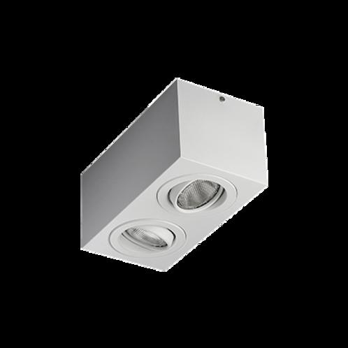 Spot Box de sobrepor com facho orientável para lâmpada PAR20 LED