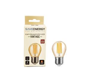 bolinha vintage filamento 4w Save Energy