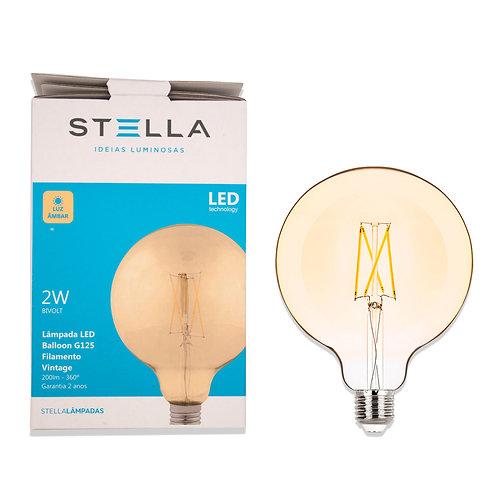 Balloon Stella G125 Víntage 2W Ambar 200 Lum.