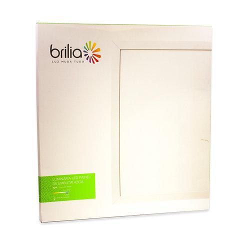 Painel LED Brilia 42x42 32W 6500k Embutir