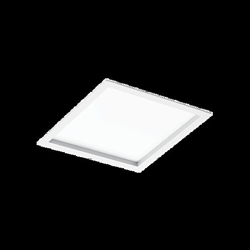 Plafon de embutir quadrada para lâmpadas Bulbo LED