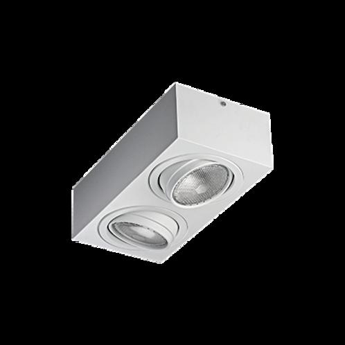 Spot Box de sobrepor com facho orientável para lâmpada PAR30 Curta