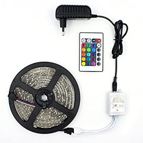 Kit Fita LED RGB 14W/M 12V - 5 Metros