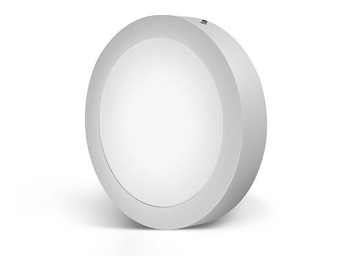 Luminária LED redonda de sobrepor