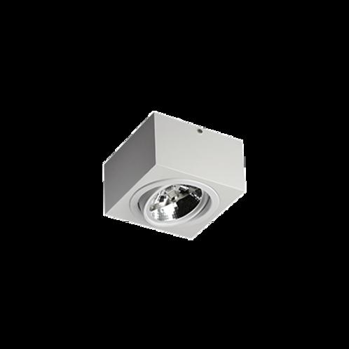 Spot Box de sobrepor com facho orientável para lâmpada AR111 LED