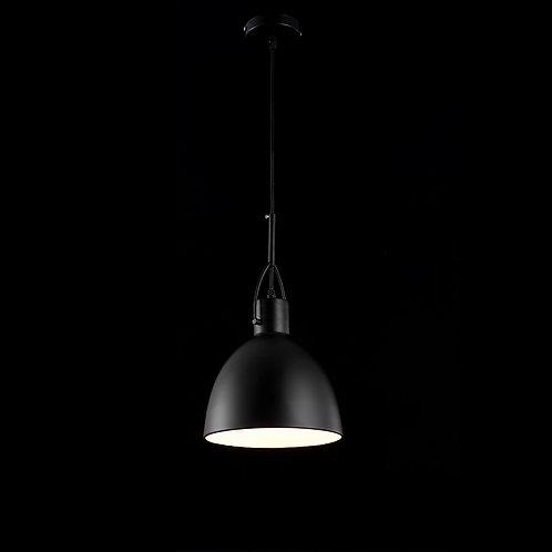 Pendente alumínio PRETO FOSCO - JLR Iluminação
