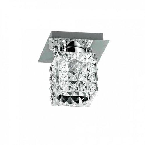 Plafon PRISM Metal e Vidro Halopin Bella
