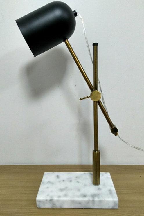 Luminária mesa mármore - Chandelie