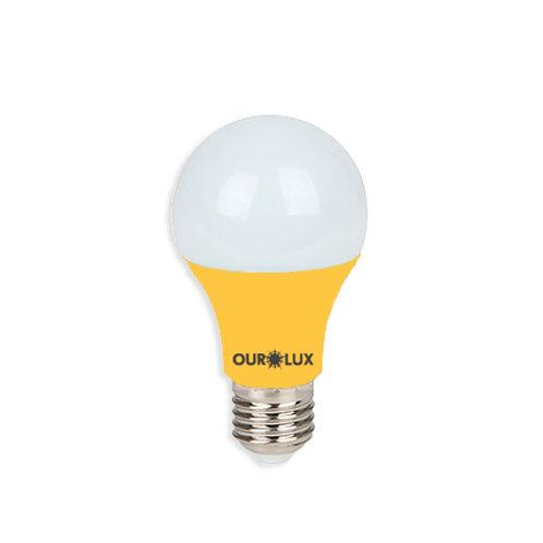 Bulbo Ourolux Amarela 7W E-27
