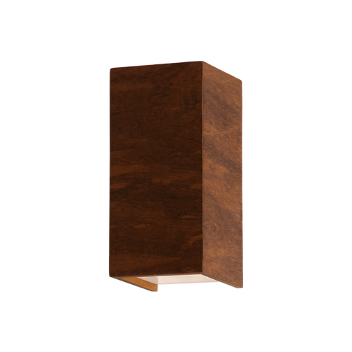 Arandela Retangular Slim Madeira 15x7,5x8,5 Accord