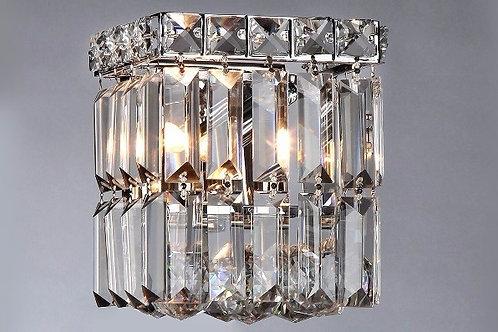 Arandela Interna Cristal K9 Palito Quadrada - Chandelie