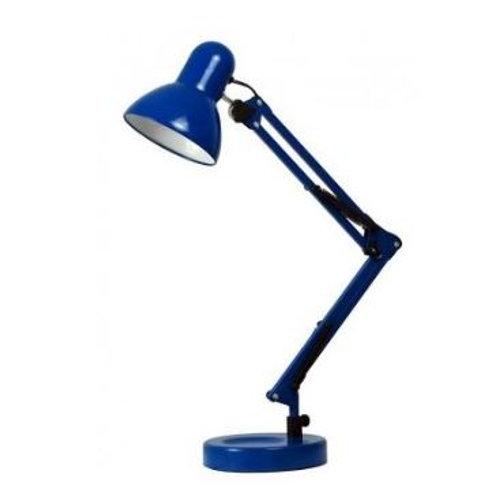Luminária de Mesa c/ Base Grande 1L E-27 Azul