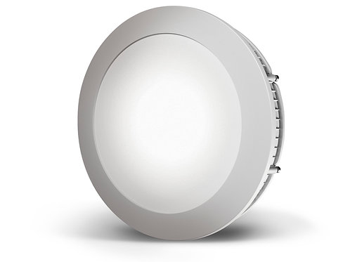 Luminaria LED redonda de embutir